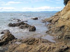 Waiti Bay (russelljsmith) Tags: winter newzealand sun beach sunshine coast sand sundaydrive firthofthames 77285mm waitibay