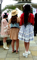 GIRLS (Lulu Vision) Tags: sanfrancisco street girls people fashion festival jpop