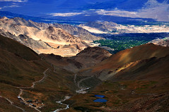 Unparalleled Enchantment (@mons.always) Tags: mountains landscape nikon scenery hills valley greenery roads leh ladakh d90