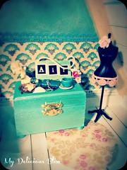 Lofty Goodness (© My Delicious Bliss) Tags: beach monster miniature high barbie blythe beachhouse dollhouse bratz seasidecottage blythedollhouse dollhouseminiature dollhouseforblythe poppieswoodshopdesigns mydeliciousbliss