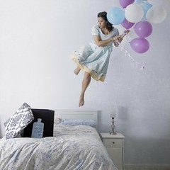 Up and Away (projectdoris photography) Tags: imagination fineartphotography whimsicalphotography levitationphotography projectdorisphotography
