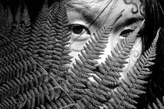 Tribal (Krystan-Grace Photography) Tags: pink blue friends red portrait plants white black colour green eye english girl yellow female hair grey model eyes corn doll arms legs sister stripes clown bricks chinese makeup spots cousin falseeyelashes backcombed