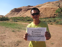 Leo Chan (SUWA) Tags: monument utah canyonlands greater obama