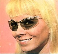sunglasses star ad 1964 eyewear lunettesdesoleil the1960s 1964ad vintageeyewear mireilledarc solamor vintagesolamor 1964sunglasses famousfrenchstar