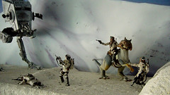 "Battle of Hoth diorama - imperial AT-ST in close fight with rebels • <a style=""font-size:0.8em;"" href=""http://www.flickr.com/photos/86825788@N06/7949265438/"" target=""_blank"">View on Flickr</a>"