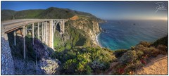 Bixby Creek Bridge (Frank Kehren) Tags: california bridge sunset panorama canon coast pacific bigsur 17 f11 hdr californiahighwayone pacificcoasthighway bixbycreekbridge canoneos5dmarkii tse17mmf4l