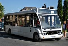 YF02SKO Optare Solo missing a bit! Barnstaple (google_wayne) Tags: bus buses beacon dolton