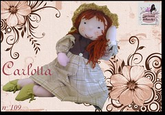 Carlotta - 109 - (Luciana Dollsmaker) Tags: doll arte bambini rag serie ragdoll bambole gioco giocattoli hobbie stoffe artigianato cucito infanzia bamboledipezza bamboline hobbistica lavorifattiamano lucianadollsmaker