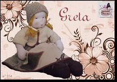 Greta - 114 - (Luciana Dollsmaker) Tags: doll arte bambini rag serie ragdoll bambole gioco giocattoli hobbie stoffe artigianato cucito infanzia bamboledipezza bamboline hobbistica lavorifattiamano lucianadollsmaker
