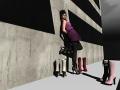 It's Friday [2/2] (Mondra Kira) Tags: sunglasses fashion clothing style accessories diva newhairstyle 22769 laceupboots sportglasses exposeur gotzsche collabor88 laccessories findingfabfree