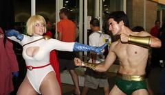 029 (willdleeesq) Tags: cosplay cosplayer dccomics marvel marvelcomics submariner cosplayers powergirl namor comikaze comikazeexpo
