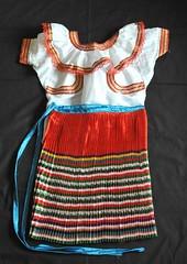 Tojolabal Maya Clothing Mexico (Teyacapan) Tags: mexico maya skirt blouse textiles chiapas indigenous garments blusa lasmargaritas enagua elvergel