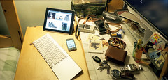 Mess Desk (GMilo) Tags: kodak chamonix portra schneider dayi superangulon 045n2