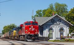 CP 8927 CSX K833 Princeton IN 09 Sept 2012 (Train Chaser) Tags: cp csxcedsub cp8927 csxk833