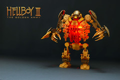 Hellboy II The Golden Army: Robot (Robiwan_Kenobi) Tags: del army gold golden robot lego guillermo hellboy toro robiwankenobi