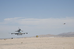 Endeavour Atop SCA Lands At Edwards (ED12-0316-02) (NASA HQ PHOTO) Tags: ca usa nasa edwards spaceshuttle flyover edwardsairforcebase jimross 747shuttlecarrieraircraftsca drydenflightresearchcenterendeavour