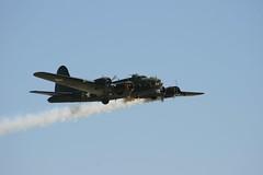 "Boeing B-17 Flying Fortress ""Sally B"" (SandorJ) Tags: plane airplane aircraft airshow b17 duxford boeing flyingfortress warbird avion sallyb meetingarien memphisbelle b17g aeronef forteressevolante b17gflyingfortress"