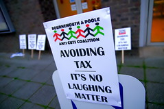 Protest Against Tax Avoidance