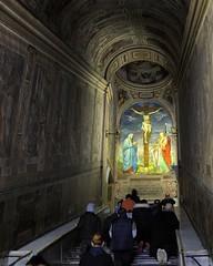 Scala Sancta - Piazza San Giovanni Laterano, Roma (edk7) Tags: italy rome roma church san italia catholic steps holy climbing scala 28 piazza knees indulgence giovanni lazio 2010 laterano plenary d300 sancta edk7
