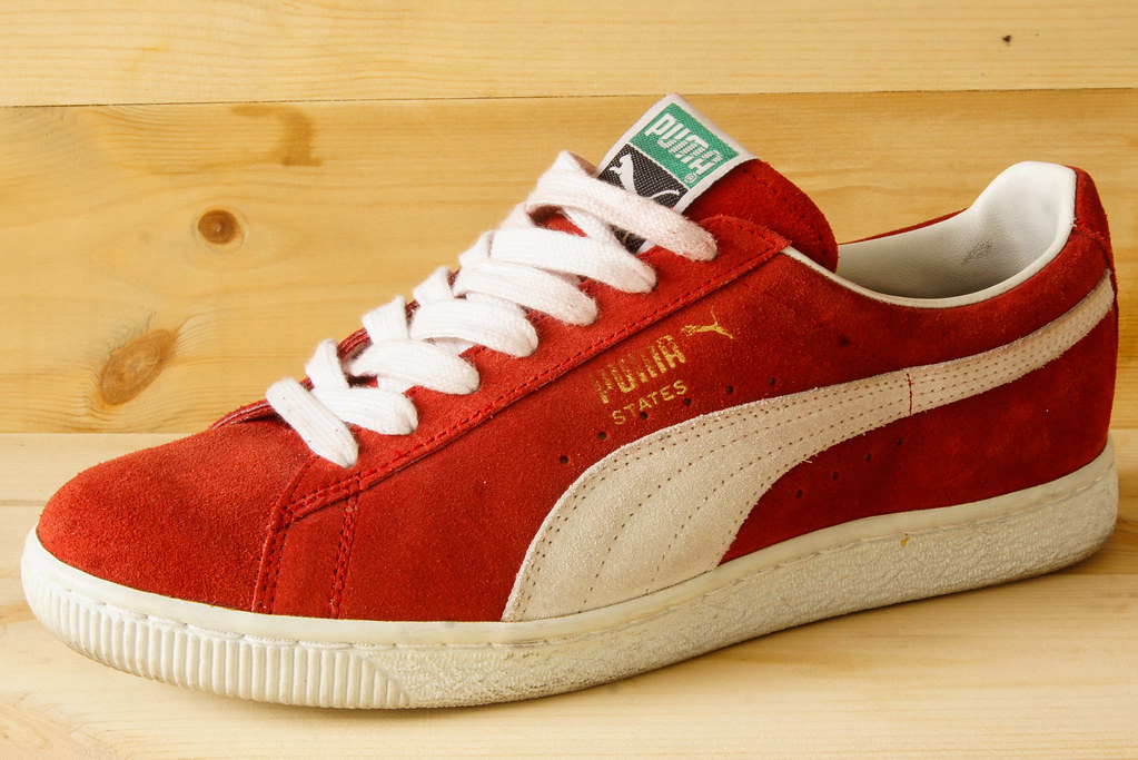 Puma States (forever fresh) Tags  africa blue shadow red basketball vintage  star clyde f2b83fe56c