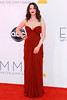 Kat Dennings 64th Annual Primetime Emmy Awards, held at Nokia Theatre L.A. Live - Arrivals Los Angeles, California