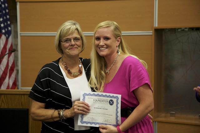 2012 EGF Fall Scholarship Ceremony
