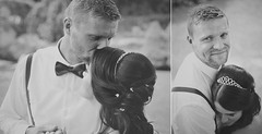 (zuzana sutkova) Tags: wedding portrait love film groom bride kiss roman filmgrain adrika