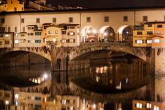Ponte Vecchio (goerz_1) Tags: canoneos50d sigma1770 italia firenze pontevecchio notturna night longexposure