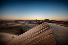 Lonely Dune (ecmguy77) Tags: sand dune desert sunset hot desolate alone quiet liwa uae dubai ecmguy robertwork