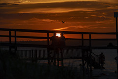 Harbor Island sunset (pmonaghan) Tags: beach beaufort harborisland sthelenaisland vacation sun people love