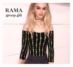 RAMA - Group Gift July 2016 (Faullon / RAMA) Tags: free secondlife gift rama groupgift faullon selfierama