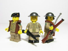 Canadian Infantry (Sgt._Johnson) Tags: lego wwii canadian radio