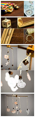 DIY Baby Mobile (premier-photo.com) Tags: baby mobile craft diy woodworking pencils coloring string walnut oak