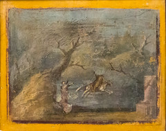 IMG_0813 (jaglazier) Tags: 1stcentury 1stcenturyad 2016 3rdstyle 72416 9478 adults altars animals architecturalelements bulls campania copyright2016jamesaglazier crafts deciduoustrees europa frescoes gods grecoroman hills italy july jupiter landscape legends mammals museoarcheologiconazionaledinapoli museums myths naples napoli painting pompeii religion rituals roman shrines trees women zeus art forests fresco landscapes wallpainting wastelands