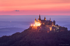 Hohenzollern Castle (cfaobam) Tags: rot sunset germany sonnenuntergang schwbische alb castle burg hohenzollern cfaobam landscape landschaft sun europe europa nature national geographic cfaobamhome historisch allemagne outdoor