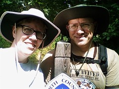Laura & Joseph Frederick (North Country Trail) Tags: hike100nct hiking flowers plants mushrooms nationalheadquarters lowell mi michigan puremichigan kentcounty barrycounty whitecloud bitely wildflowers geochaches bear paw print boardwalk whiteriver exploremore getoutside findyourpark headquarters