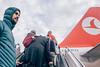Istanbul November 2014 (Stephan Noë) Tags: 2014 istanbul november airport plane türkei turkey flughafen flugzeug airplane gangway sky zenitar16mmf28 m42 manualfocus russianlense canon600d himmel wolken clouds