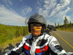 20160809 Hero3 Sturgis 2016 area ride 350 (James Scott S) Tags: motorcycle wanderlust biker ride touring travel journalistic sturgis sd rally pov james scott s moran wyoming unitedstates us