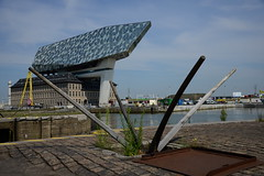 Havenhuis DST_3557 (larry_antwerp) Tags: havenhuis kapstan droogdok antwerp antwerpen       port        belgium belgi