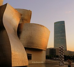 Guggenheim Bilbao. (lameato feliz) Tags: museo bilbao bilbo guggenheimbilbao arte gehry