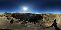From the top - 360 (VanGorkum Photography) Tags: 360 vr virtual reality pano panorama nikon d200 wa washington 2016 palouse falls water waterfall