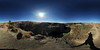 From the top - 360 (VanGorkum Photography) Tags: 360 vr virtual reality pano panorama nikon d200 wa washington 2016 palouse falls water waterfall