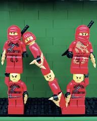 N (Laurene J.) Tags: lego bricksbythebay bbtb2016 minifigurealphabet minifigure minifigs legoalphabet alphabet pilobolusalphabet pilobolus lettering bbtb 2016 bricksofcharacter ninja ninjago