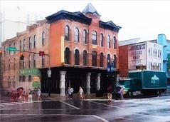 Nashville Rain (c.huller) Tags: street leonardo icolorama rain nashville
