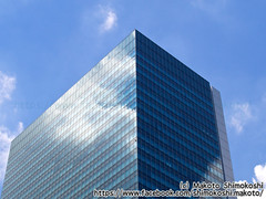 Building at Shibuya |  (over_frost) Tags:  shibuya  building  tokyo  japan  cloud  sky bluesky  mirror