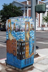 Long Beach City Utility Box