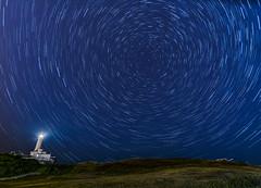 Circumpolar Cabo Mayor (Saavedra Ruiz) Tags: santander cantabria faro lighthouse circumpolar stars startrails