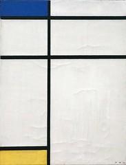 Composition de P. Mondrian (Kunstmuseum, Ble) (dalbera) Tags: noplasticisme pietmondrian composition dalbera ble basel suisse artmoderne destilj