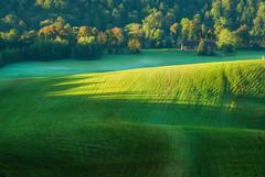 Bezmiechowa (Mirek Pruchnicki) Tags: bezmiechowa landscape morning green mountains górysłonne glider airport poland bieszczady subcarpathian