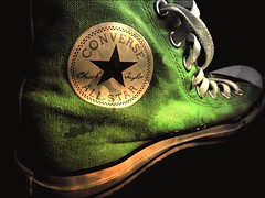 converse green (Jackal1) Tags: green converse shoe footwear fashion word chucktaylor laces sneaker trainer